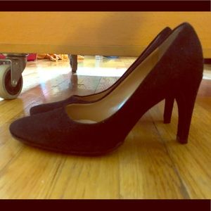 BALLY , Classic Pumps, Black Suede